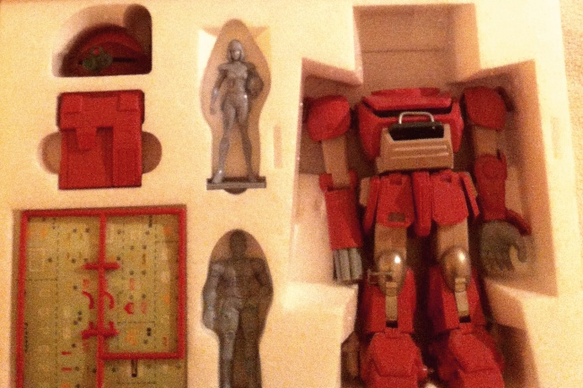 Fyana's Brutishdog ATM-09-GC no insert from anime tv show Armored Trooper Votoms(装甲騎兵ボトムズ)  1983-1984 Soukou Kihei VOTOMS