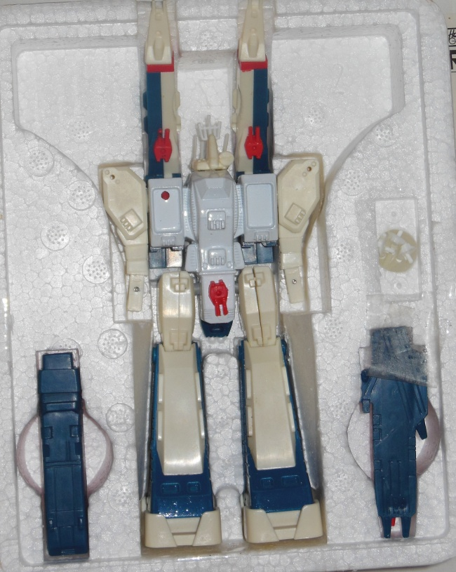 Robotech Miniature SDF-1 Battle Fortress by Harmony Gold ST styrofoam unboxed from anime Super Dimension Fortress Macross 1982-1983 other names Cho Jiku Yosai Macross, Guerra das Galáxias, Fortezza Super Dimensionale, 超時空要塞マクロス, 초시공요새 마크로스