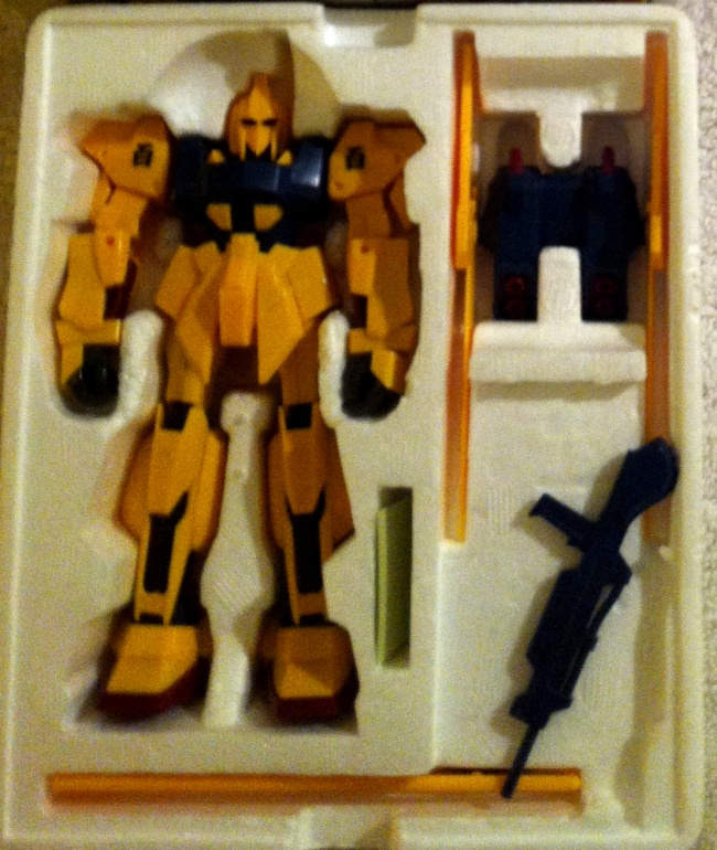 High Complete Model M100 Shiki MSN-00100 1/144 scale HCM 23 Z Gundam Japan 1985 styrofoam