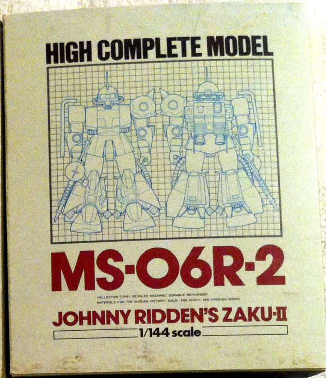 High Complete Model MS-062R-2 Johnny Ridden's Zaku II 1/144 HCM