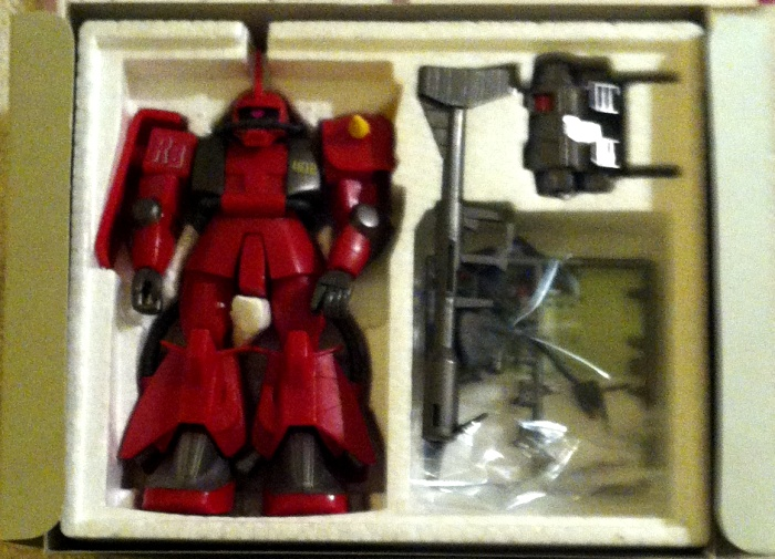High Complete Model MS-062R-2 Johnny Riddens Zaku-II 1-144 styrofoam HCM