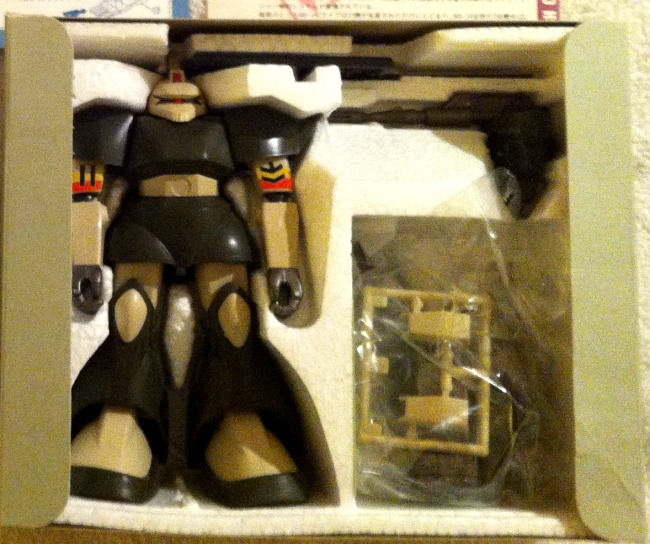 High Complete Model MS-14C Gelgoog Cannon Zions Mobile Suit Bandai styrofoam