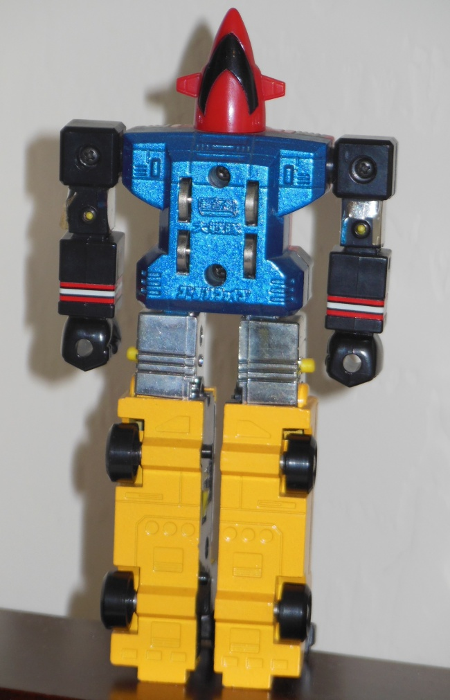 Goggle Five Chogokin by Popy GB-76 Japan ST 1982 from Dai Sentai Goggle Five 1982-1983 loose back