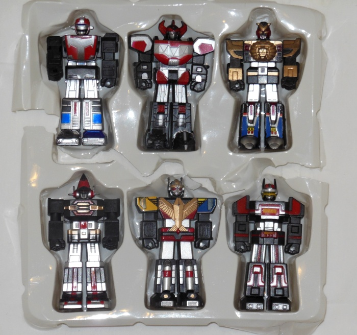 Sentai Robo Collection with Turbo Robo, Daizyujin, Live Robo, Dyna Robo, Jetman, Bio Robo