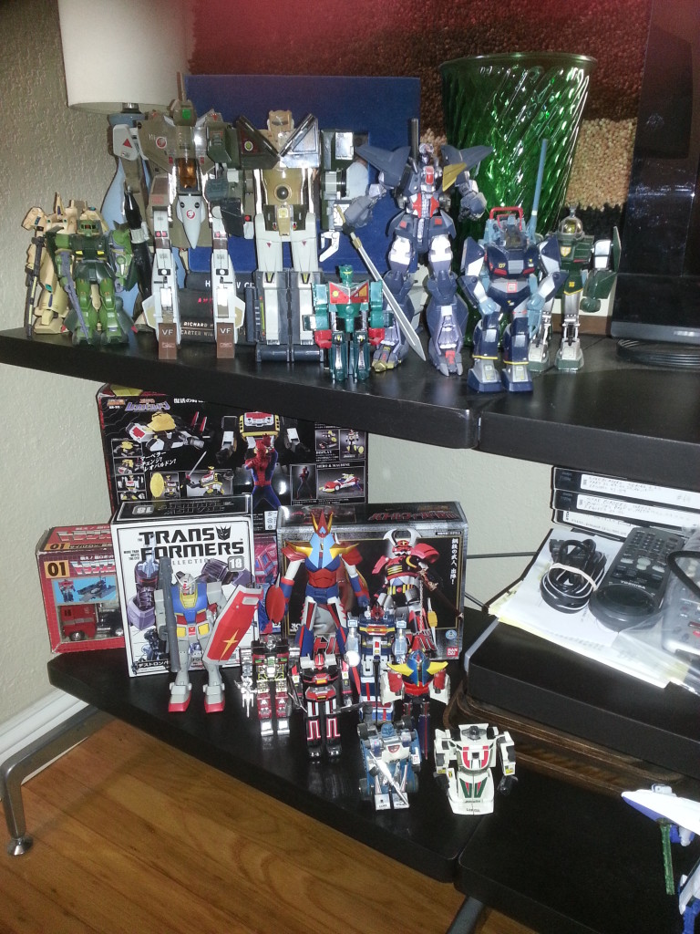 My Collection - Big O, Zaku, Valkyrie, Sasuraiger, Dancougar, Dougram, Soltic, Godaikins, Raydeen, Mirage, Jazz, Leopardon, Convoy, Battle Fever