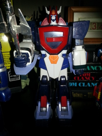 Galatt DX Hicompact Model Jumbow 1985 from anime Super Robo Galatt(Choriki Robo Galatt 超力ロボ ガラット) in 1984