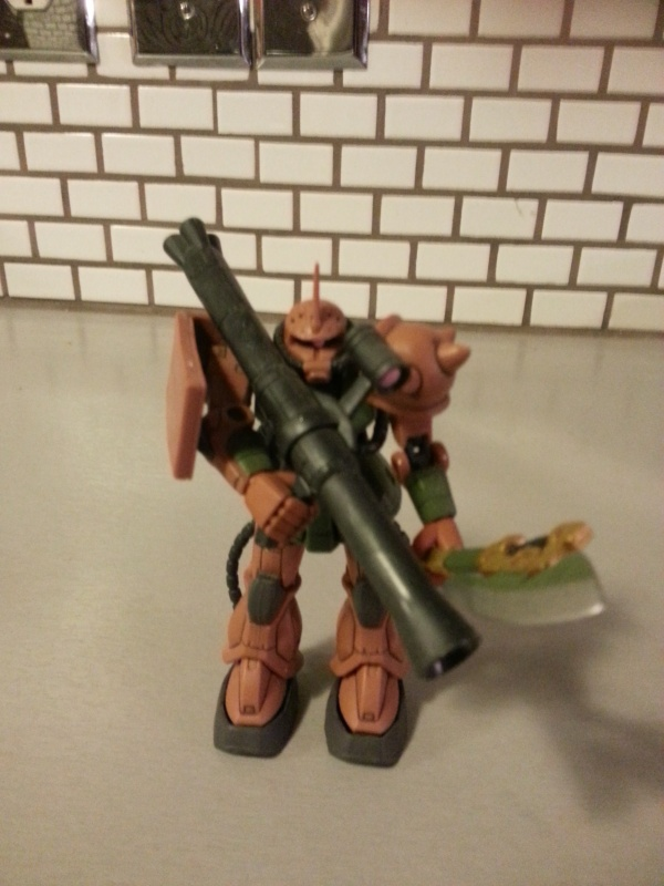 Gundam MSIA Garma Zabi Use Zaku II Custom MS-06FS 2004 from anime Kidou Senshi Gundam (機動戦士ガンダム) aka Mobile Suit Gundam, First Gundam, Il ritorno di Gundam, Los Guerreros Moviles Gundam, Mobile Soldier Gundam, Mobile Suit Gundam 0079, ファーストガンダム