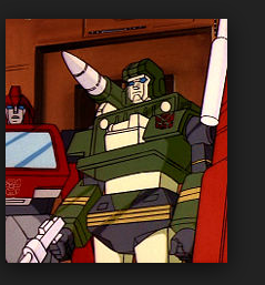 Hound Transformers 1984 Generation 1 Autobot J59 Jeep cartoon still