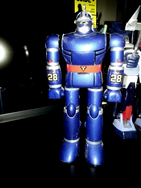Tetsujin 28 ST GB-23 by Popy 1980 from anime New Tetsujin-28 1980-1981 aka Ironman 28, Super robot 28, The New Adventures of Gigantor