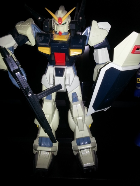 Deluxe Gundam Z MK II Mobile Suit RX-78 perfectly detailed s-heavy version 1/100 scale 1985 Bandai Z Gundam