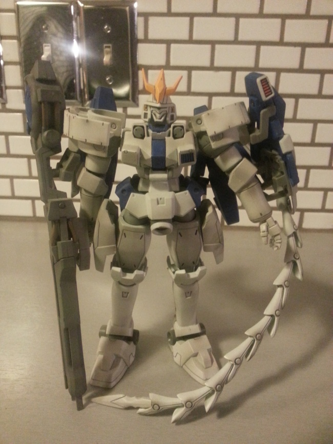 "Arch Enemy Tallgeese III OZ-00MS2B 2002 Bandai America 7 1/2"" from anime New Mobile Report Gundam Wing: Endless Waltz(新機動戦記ガンダムW: ENDLESS WALTZ, Shin Kidō Senki Gandamu Uingu: Endoresu Warutsu) in 1997"