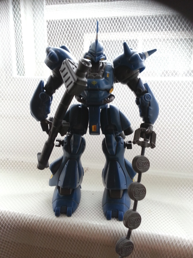 Gundam MSIA Kampfer MS-18E (ケンプファー, Kenpufā) 2002 from anime Kidō Senshi Gundam 0080 - Pocket no Naka no Sensō(機動戦士ガンダム0080 ポケットの中の戦争) or 機動戰士鋼彈0080 口袋裡的戰爭
