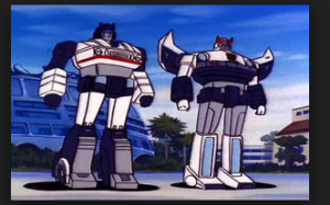 Jazz and Prowl still