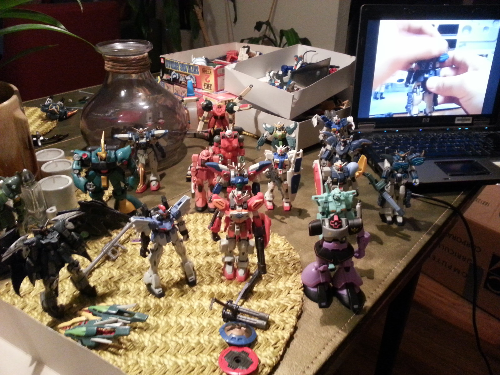 Gundam lot from Craiglist