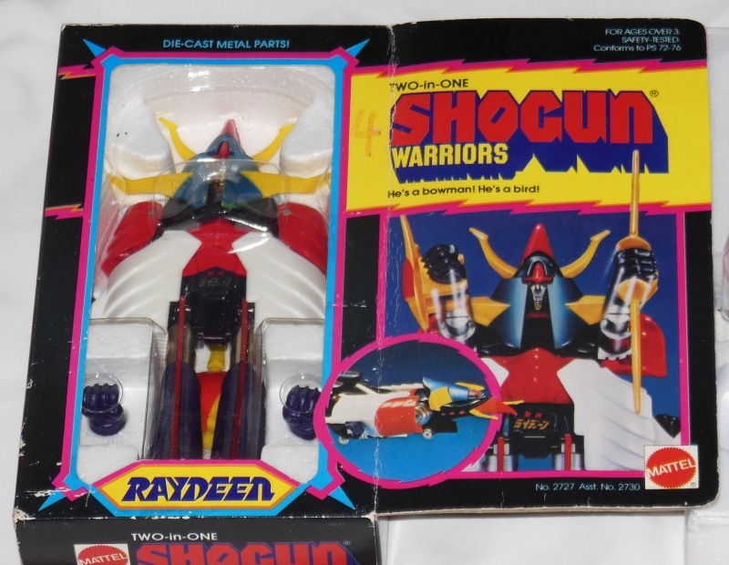 Raydeen Shogun Warriors by Mattel 1978 aka GA-09 DX Raideen by Popy 1975