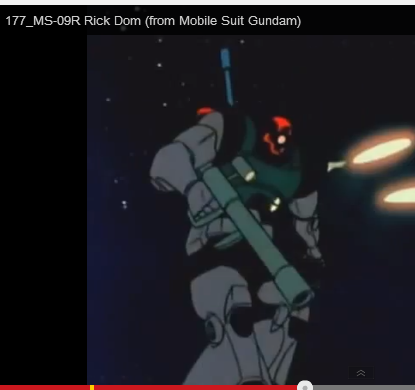 MS-09 Rick Dom anime still