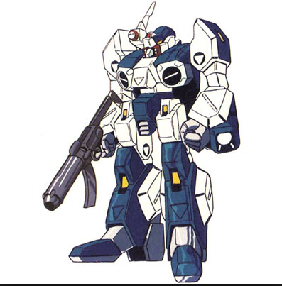 Blue Legioss Alpha Fighter anime still – 1985 from anime Genesis Climber Mospeada(機甲創世記モスピーダKikou Souseiki Mospeada) from 1983-1984 also seen in Robotech: The New Generation