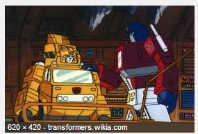 Grapple from Transformers cartoon still from 1985 - image from transformers.wikia.com