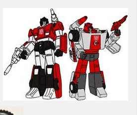 sideswipe and red alert still