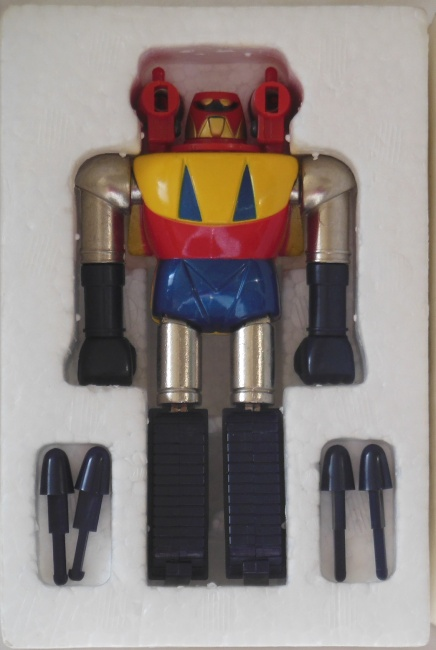 Shogun Warriors Poseidon 1979 Mattel aka Getta Robo Popy GC-12 1975 styrofoam from the anime Getter Robo G from 1975-1976