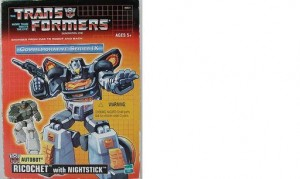 Ricochet - Transformers Generation 1 G1 Hasbro Commemorative Series IX 2003 box cover