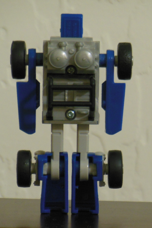 Beachcomber G1 Generation 1 Hasbro 1985 robot back