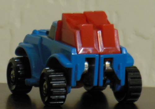 Gears Generation 1 Hasbro 1984 car back