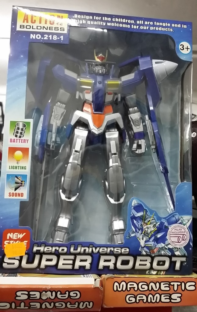 Hero Universe - Super Robot Gundam bootleg Action Boldness No. 218-1 Space War New Style