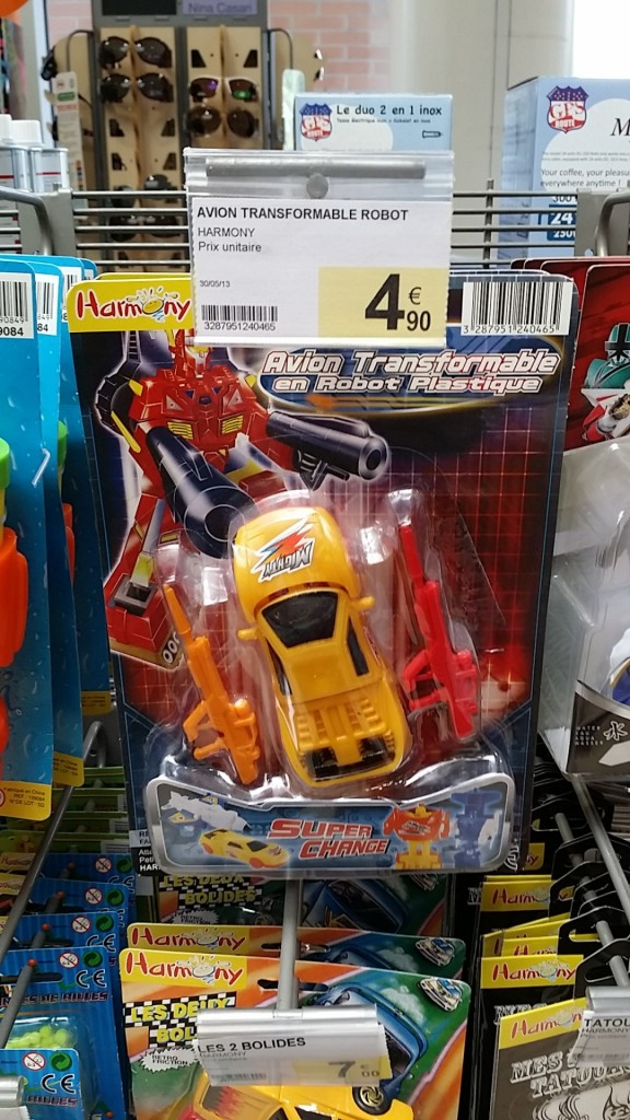 Harmony Super Change Avion Transformable Robot Bootleg KO Knockoff