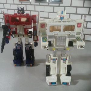 Convoy 15th Anniversary Edition by Takara and Ultra Magnus Hasbro