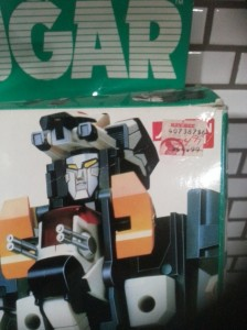 Dancougar DX Godaikin 1985 Bandai America from the anime Chōjū Kishin Dancougar(超獣機神ダンクーガ)