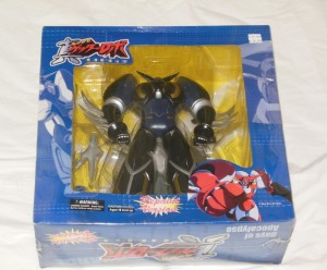 Shin Getter Robo Days of Apocalypse by Yamato - Repaint Version box front from anime 真ゲッターロボ「世界最後の日」 2004