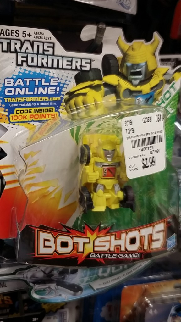 Bumblebee Bot Shots Battle Game