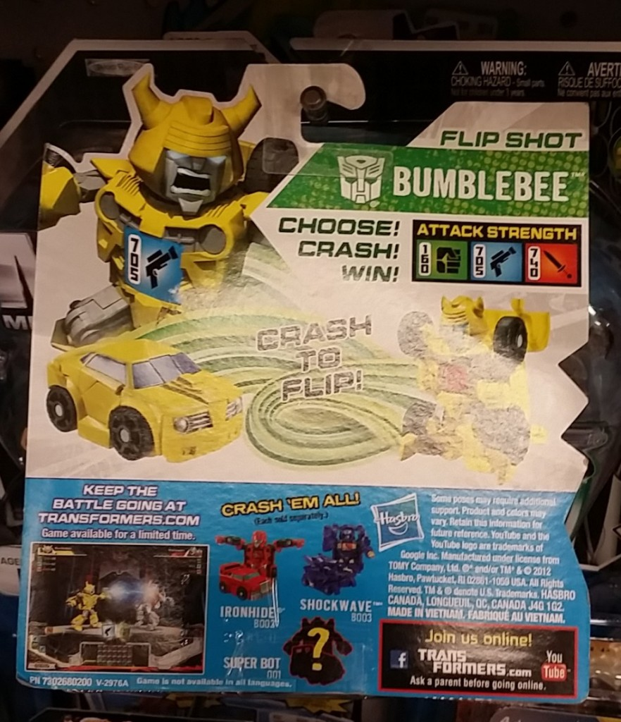 Bumblebee Bot Shots Battle Game 2012