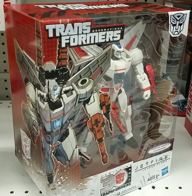 Jetfire Transformers Generations Autobot 2014 Leader Class Skyfire Hasbro 30th Anniversary