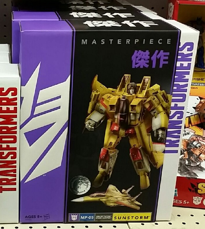 Sunstorm Masterpiece MP-05 2014 Hasbro Decepticon Spark Hunter and Seeker(サンストーム Sansutōmu)