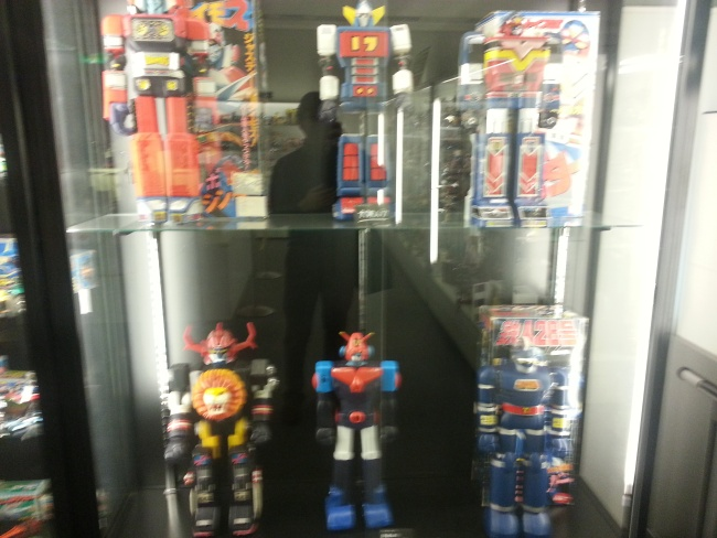 Bandai Museum(バンダイミュージアム Bandai Myūjiamu) Jumbo Machinder robot display Tochigi prefecture Mibu