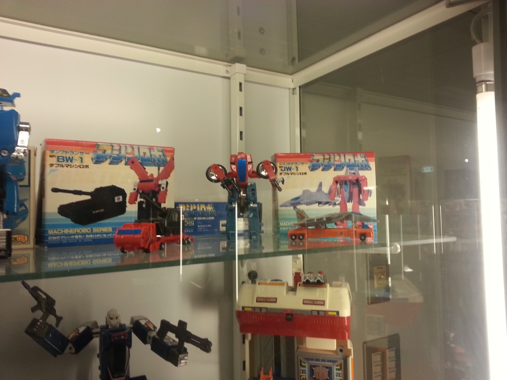 Bandai Museum Machine Robo display Tochigi prefecture Mibu