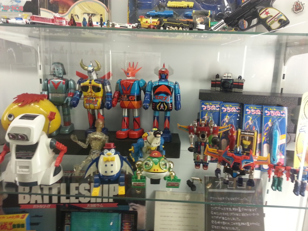 Bandai Museum Super Robot display Tochigi prefecture Mibu