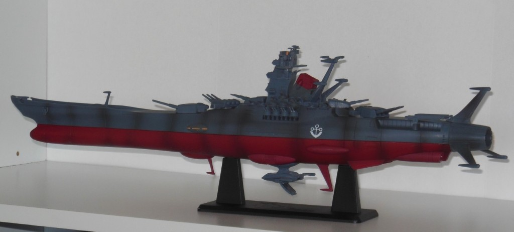 Space Battleship Yamato 2220 Super Mechanics 1/590 scale 2009 45 cm by Taito
