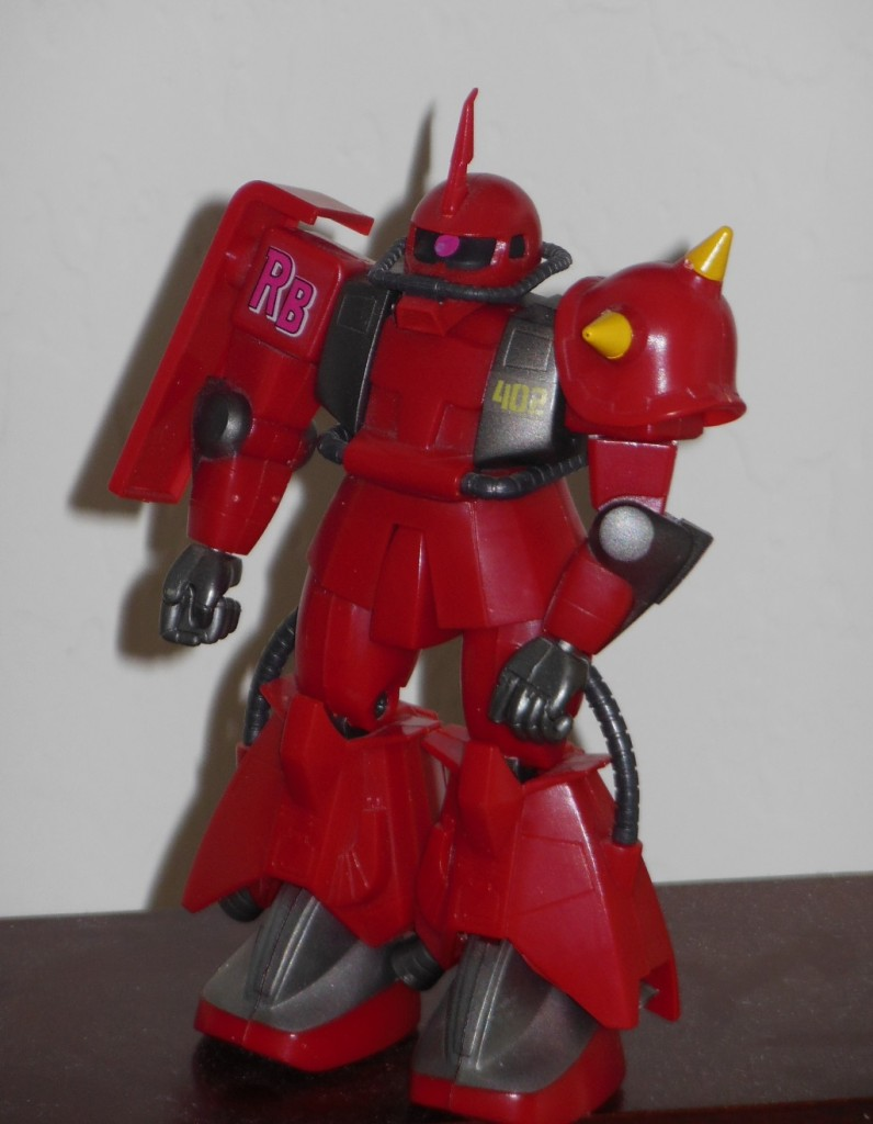 High Complete Model MS-062R-2 Johnny Ridden's Zaku II 1/144 HCM robot loose angle