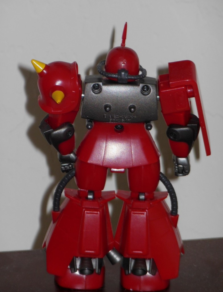 High Complete Model MS-062R-2 Johnny Ridden's Zaku II 1/144 HCM robot loose back