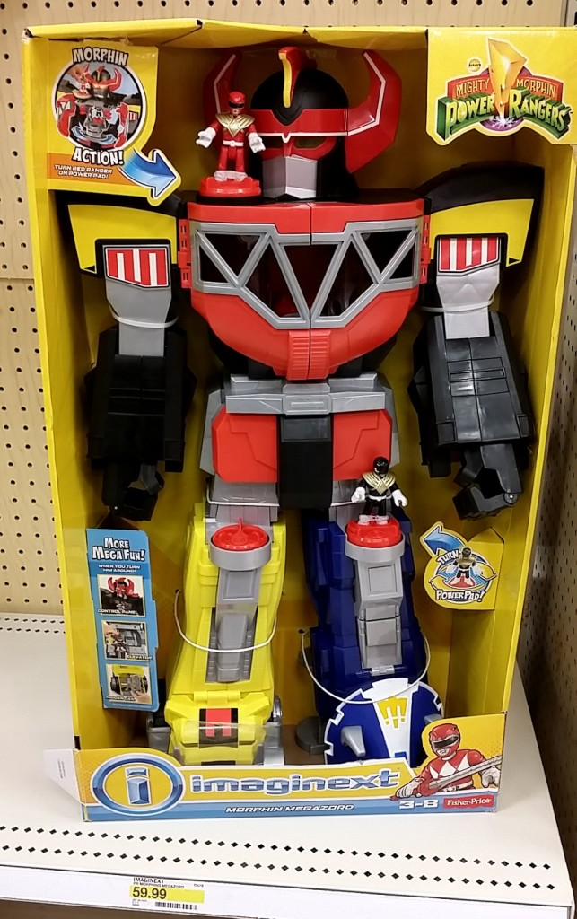 Fisher-Price Imaginext Power Rangers Morphing Megazord 2015