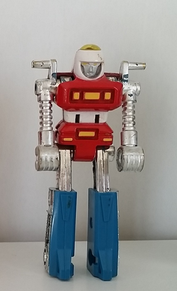 Machine Robo MachineRobo MR-01 Cy-Kill 1982 Popy Japan Robot Robo Machines Gobots Bike Robo from anime Machine Robo Revenge of Cronos(Chronos no Gyakushuu マシンロボ クロノスの大逆襲) 1988-1989 and Challenge of the Gobots 1983-1987 La Revanche des Gobots in France