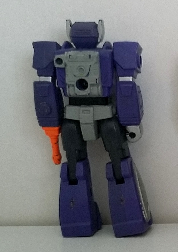 Transformers Shockwave Action Masters 1989 Hasbro Decepticons back side of loose figure