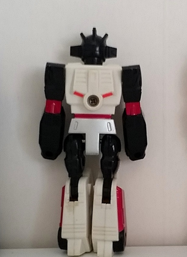 WheelJack Action Masters 1989 Hasbro Transformers Autobot Generation 1 G1 back side