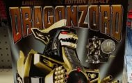 Power Rangers Limited Black Edition Legacy Dragonzord 2016 Toys R Us Black & Gold Version