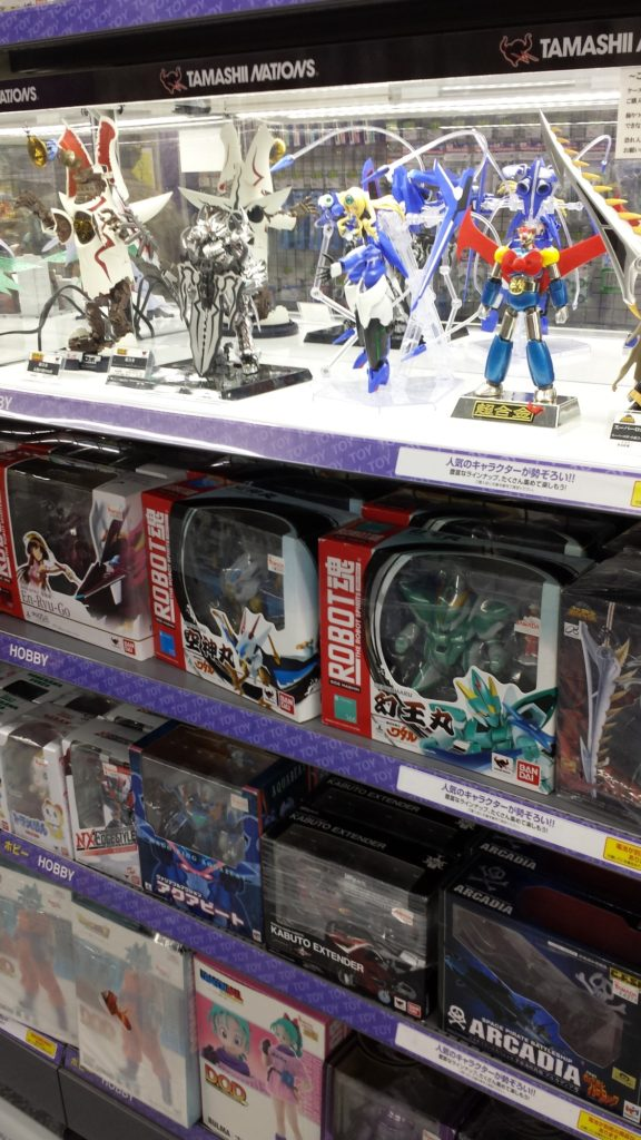 ROBOT魂 The Robot Spirits Tamashii Nations Bandai Arcadia Super Robots at Lab Electronics 2016